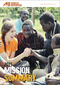 Mission Summary 2015